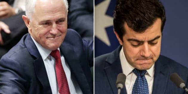 Malcolm Turnbull has led the attack on Sam Dastyari
