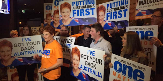 One Nation will have four new senators