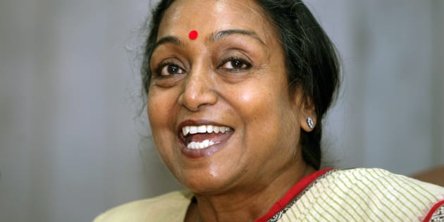 File photo of former Lok Sabha  speaker Meira Kumar.