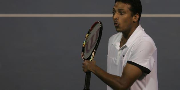 Tennis player Mahesh Bhupathi. (Photo by Sattish Bate/Hindustan Times via Getty Images)