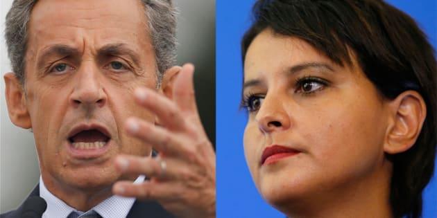 "Nicolas Sarkozy: ""Najat Vallaud Belkacem nous fait honte"""