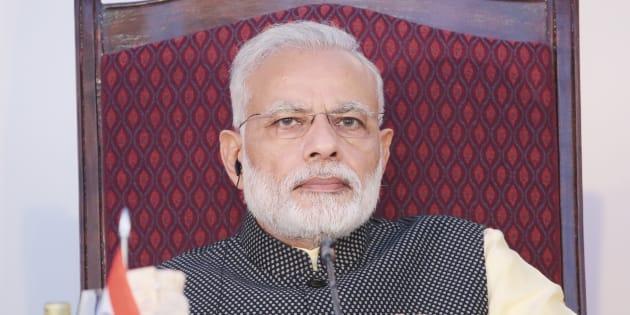 Prime Minister Narendra Modi. (Photo by Mikhail Metzel\TASS via Getty Images)