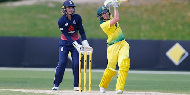 England pick up first win in Women's Ashes