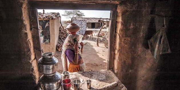 Indias Rural Poor Havent Benefitted Even A Little From The Famed - Is india a poor country