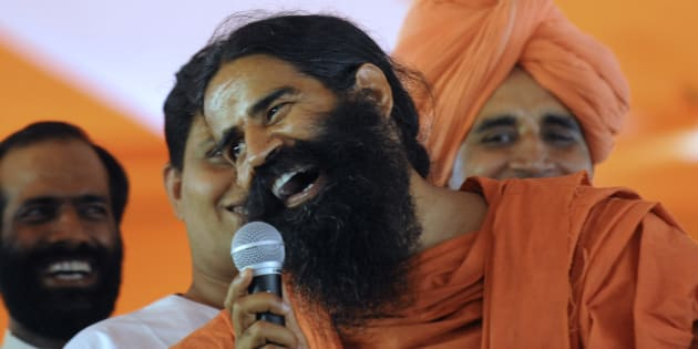 Baba Ramdev has put his foot in mouth again.