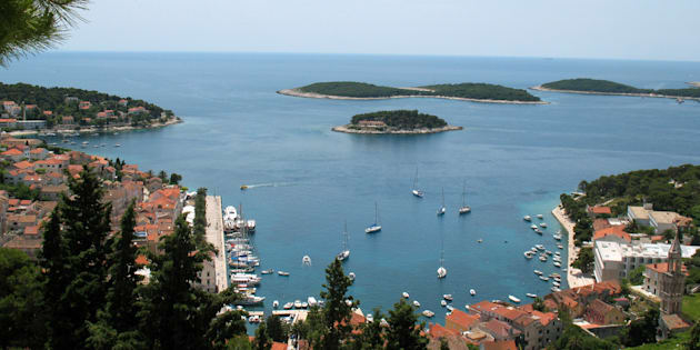 The Croatian island where the incident took place is popular with tourists.