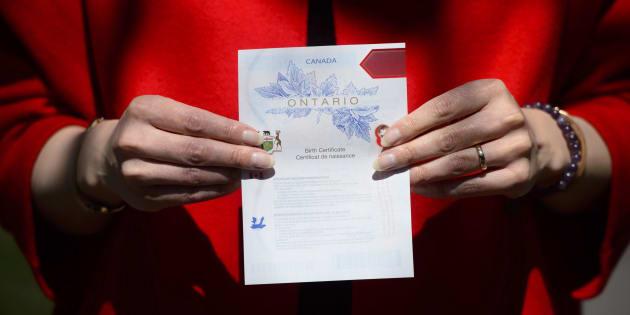 Nova Scotia To Offer Gender-Neutral Option On Birth Certificates ...