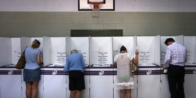 Voters in the ACT are heading to election booths on Saturday.