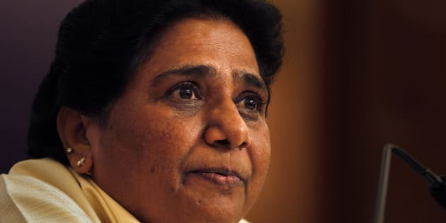 Former chief minister of Uttar Pradesh state Mayawati, whose party suffered a crushing defeat in he recently held elections, speaks during a press conference, in New Delhi, India, Saturday, May 19, 2012. Authorities in the state are now investigating whether Mayawatis park projects honoring the contribution of dalits to the nation, including the father of the constitution B.R. Ambedkar, was an elaborate swindle. The northern state's government is investigating millions of dollars it says were misappropriated by Mayawati's administration as it built the statues and monuments. (AP Photo/Manish Swarup)