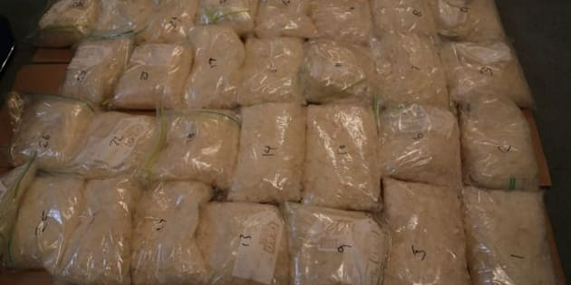 Police have made a big seizure of the drug ice in Sydney.