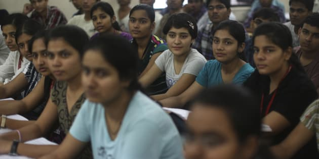 REPRESENTATIVE PHOTO: Students attend class at the Bansal Classes in Kota, Rajasthan, August 13, 2012.
