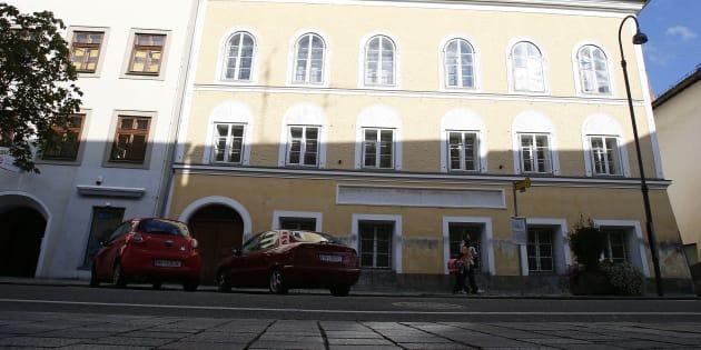 La maison natale d'Adolf Hitler est située à Braunau am Inn, dans le nord de l'Autriche