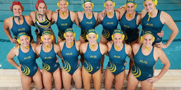The Australian women's Olympic water polo team have been struck by a virus