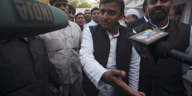 Akhilesh Yadav in 2012. REUTERS/Parivartan Sharma.