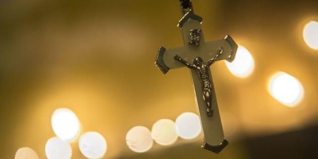 File photo a crucifix.
