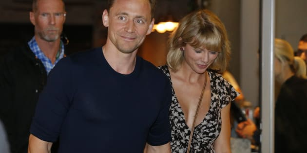 LOS ANGELES, CA - JULY 06: Taylor Swift and Tom Hiddleston are seen at LAX on July 06, 2016 in Los Angeles, California.  (Photo by starzfly/Bauer-Griffin/GC Images)