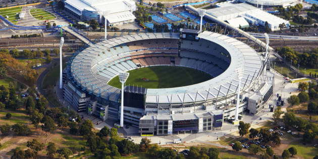 Melbourne Cricket Ground, one of the sites Rumiyah encouraged supporters to target.