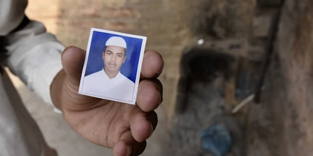 A file photo of Junaid who was murdered after a scuffle that broke out in a train over a seat in Haryana's Palwal at Ballabgarh in Faridabad, on June 26, 2017 in New Delhi, India.