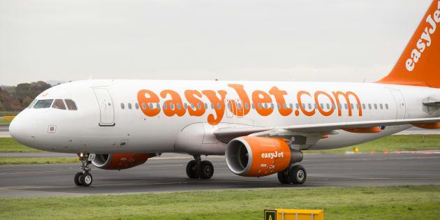 Un avion Easyjet à l'aéroport de Manchester, UK (photo d'illustration).