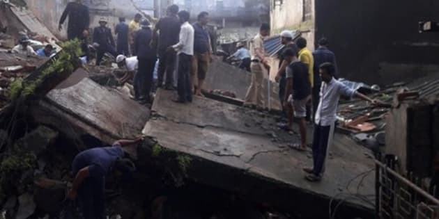Building collapses in Bhiwandi.