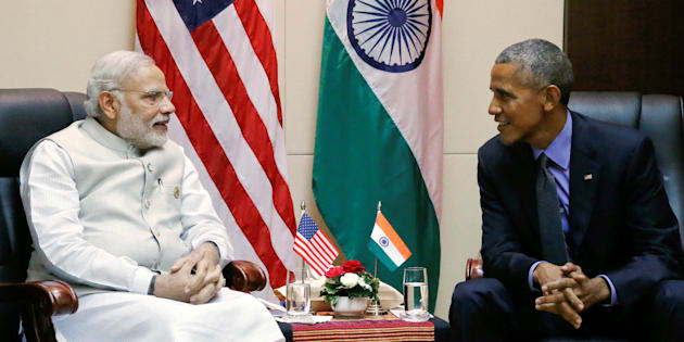 U.S. President Barack Obama holds a bilateral meeting with India's Prime Minister Narendra Modi alongside the ASEAN Summits in Vientiane, Laos September 8, 2016
