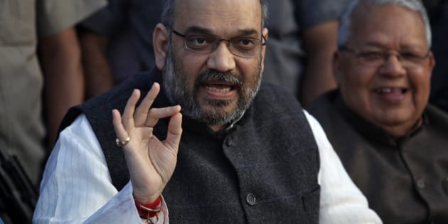 Amit Shah in March 2014. REUTERS/Pawan Kumar