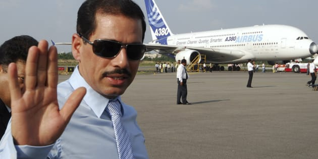 Robert Vadra, the son-in-law of the head of Congress party, Sonia Gandhi in 2008. (AP Photo/Mahesh Kumar A.)