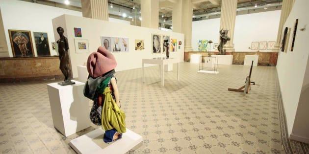 """A exposição intitulada """"Queermuseu – Cartografias da Diferença na Arte"""" contava com de 270 obras de artistas como Alfredo Volpi, Adriana Varejão, Cândido Portinari e Lygia Clark."""