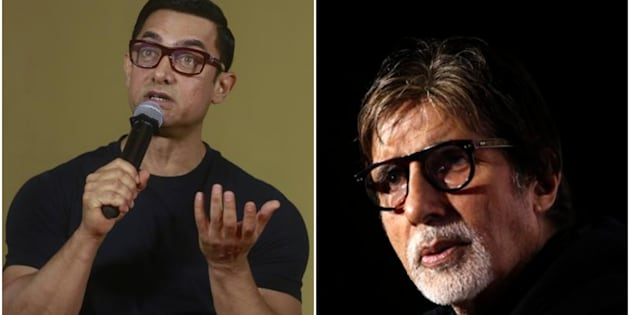 Aamir Khan and Amitabh Bachchan will be teaming for the first time for 'Thugs of Hindostan.'