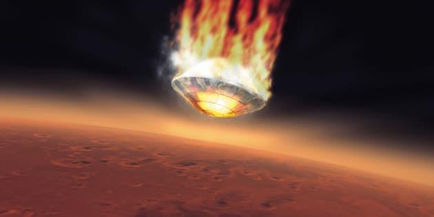 La mission ExoMars n'a pas eu beaucoup plus de succès que Mars Express, lancée 13 ans plus tôt.