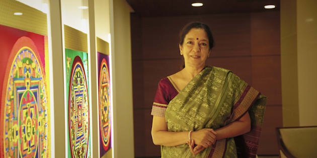 Shikha Sharma, MD and CEO of Axis Bank poses for a profile shoot on September 16, 2015 in Mumbai, India.