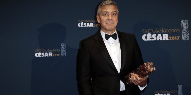 George Clooney took on President Donald Trump once again on Friday.