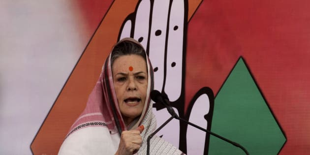 File photo of Sonia Gandhi, chief of India's ruling Congress party.