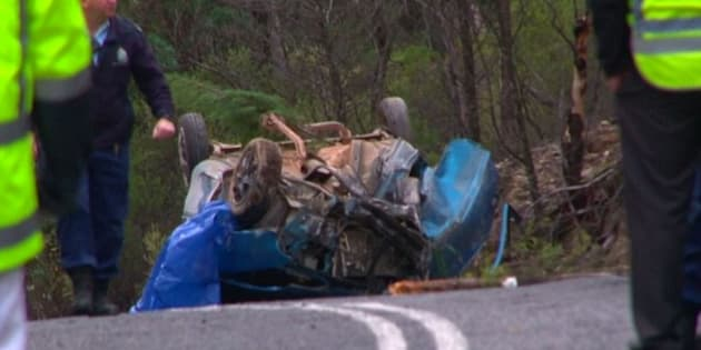 A 14-year-old boy was killed when the car he was travelling in crashed near Mudgee in NSW's central west.