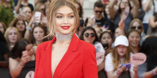 TORONTO, ON - JUNE 19:  Gigi Hadid hosts the 2016 iHeartRADIO MuchMusic Video Awards at MuchMusic HQ on June 19, 2016 in Toronto, Canada.  (Photo by Ernesto Distefano/Getty Images)