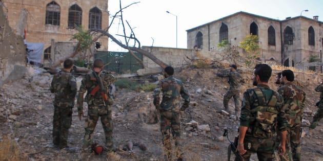 La France devrait présenter samedi 8 octobre son projet de résolution pour un cessez-le-feu dans la ville.