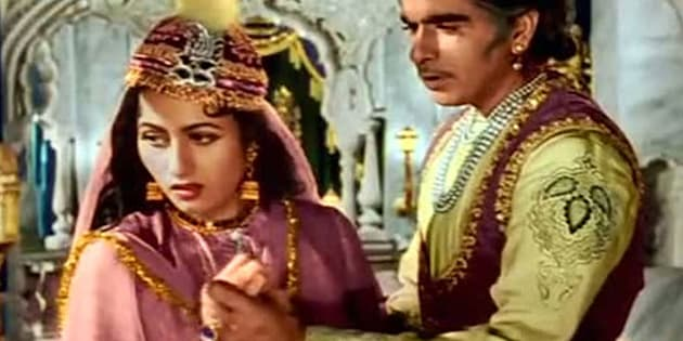 Still from the film 'Mughal-e-Azam'.