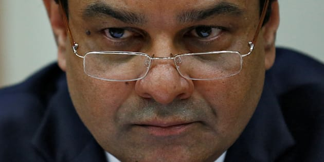 The Reserve Bank of India (RBI) Governor Urjit Patel attends a news conference after the bimonthly monetary policy review in Mumbai, India December 7, 2016. REUTERS/Danish Siddiqui