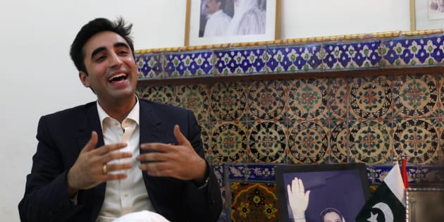 Bilawal Bhutto Zardari, chairman of the Pakistan Peoples Party (PPP) during an interview at his family residence in Naudero, near Larkana, October 22, 2014. REUTERS/Akhtar Soomro