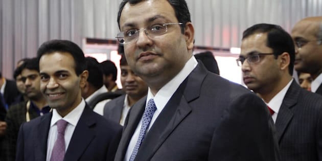 Cyrus Mistry on 5 February 2014 in Greater Noida. (Photo by Virendra Singh Gosain/Hindustan Times)