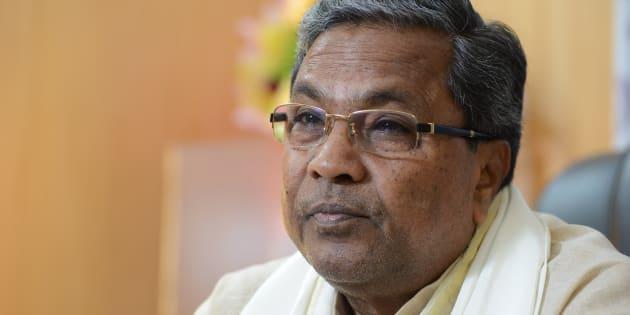 Karnataka Chief Minister K Siddaramaiah poses for a profile shoot on September 18, 2015 in Bengaluru, India.
