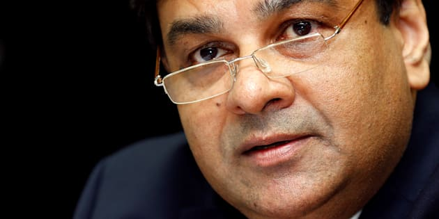 The Reserve Bank of India (RBI) Governor Urjit Patel speaks during a news conference after the bi-monthly monetary policy review in Mumbai, India, October 4, 2016.