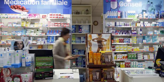 Dans une pharmacie de Bordeaux le 15 septembre 2015.