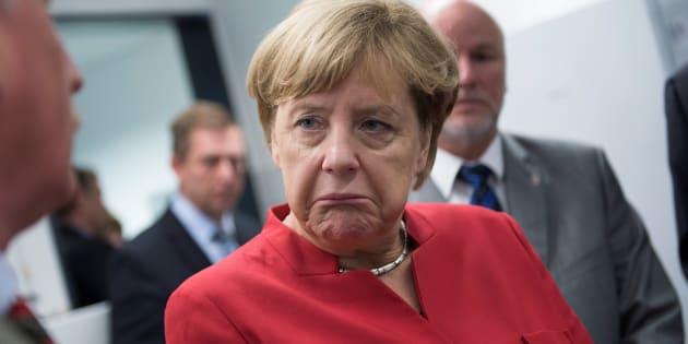 German Chancellor Angela Merkel suffers devastating defeat.
