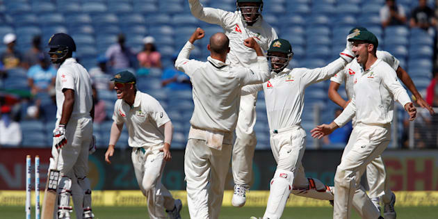 Australia's pretty stoked to be 1 up in the Test series against India.