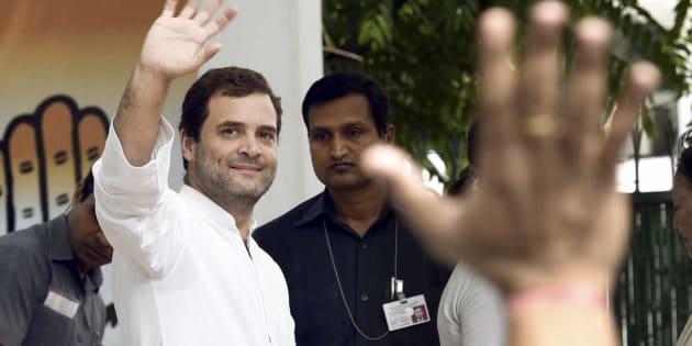 Congress Vice President Rahul Gandhi. (Photo by Mohd Zakir/Hindustan Times via Getty Images)