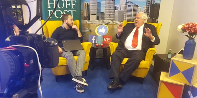 Clive Palmer sits down with HuffPost Australia.