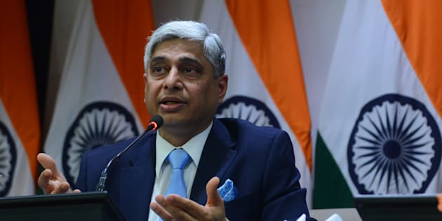 File photo of Official Spokesperson and Joint Secretary Ministry of External affairs (MEA), Vikas Swarup.