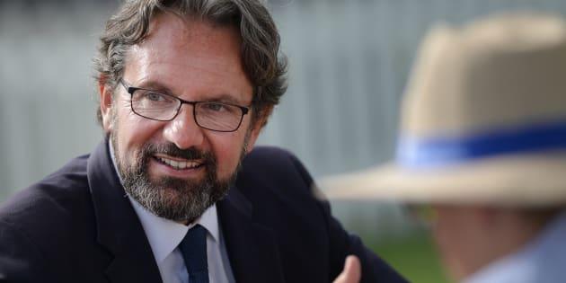 Frédéric Lefebvre à La Baule le 3 septembre 2016.