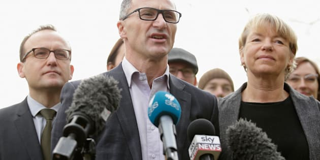 Richard Di Natale on Friday said the Greens won't vote for enabling legislation to allow the plebiscite